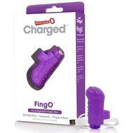 Vibrador de Dedo Recarregável ScreamingO Charged FingO Roxo