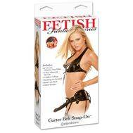 Strap-On Garter Belt Fetish fantasy Series Preto