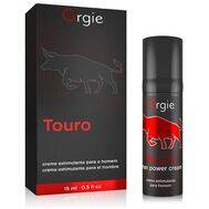 Gel Potenciador Masculino Orgie Touro Power 15 ml.