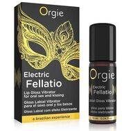 Gloss Labial com Efeito Vibrante Orgie Electric Fellatio 10 ml.