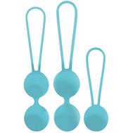Conjunto de Bolas Vaginais Amoressa Osian Set Azul Turquesa