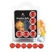 Bolinhas Explosivas Brazilian Balls Efeito Calor & Frio 6 un.