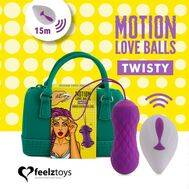 Bolas Vaginais com Vibração Twisty Motion Love Balls