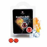 Bolinhas Explosivas Brazilian Balls Efeito Calor & Frio 2 un.