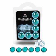 Brazilian Balls Efeito Frio 6 un.