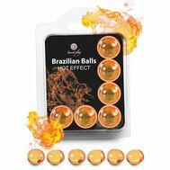 Brazilian Balls Efeito Calor 6 Un.
