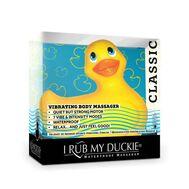 Patinho Vibratório I Rub My Duckie 2.0 Amarelo