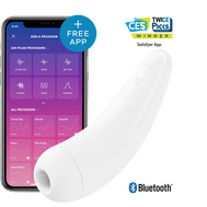 Satisfyer Curvy 2 + Branco com App Connect
