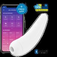 Satisfyer Curvy 2 + Branco com App Connect