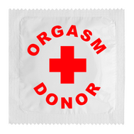 Preservativo Orgasm Donor