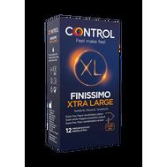 Preservativos Control Finissimo XL 12 Un.