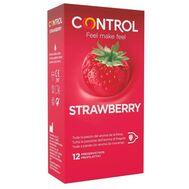 Preservativos Control Adapta Aroma de Morango 12 Un.
