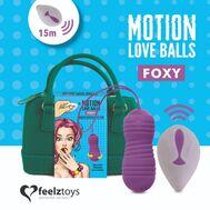 Bolas Vaginais com Vibração e Movimento Foxy Motion Love Balls