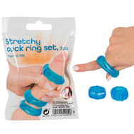Conjunto de Anéis Stretchy Cock Ring Set You2Toys