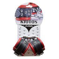 Algemas para Pulsos Kiotos Pretas e Vermelhas