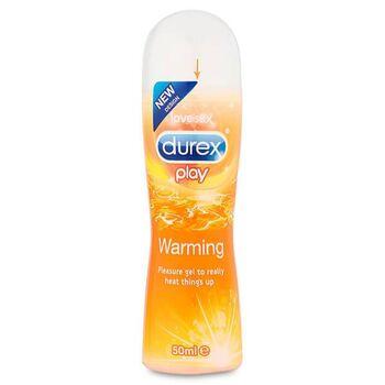 Lubrificante Durex Play Calor