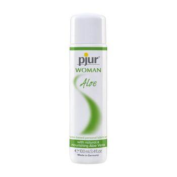 Lubrificante à Base de Água Pjur Woman Aloe 100 ml.