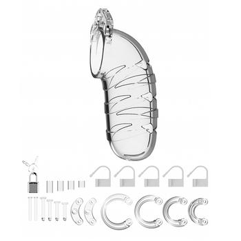 Cinto de Castidade Man Cage 05 Transparente