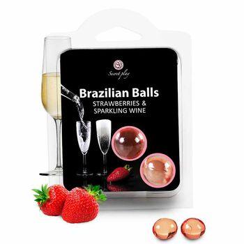 Brazilian Balls Morango & Champanhe 2 un