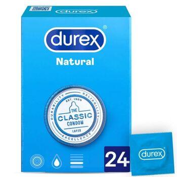 Preservativos Durex Natural Plus 24 un.