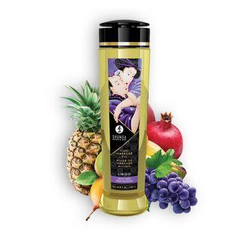Óleo de Massagem Shunga Libido Frutos Exóticos 240ml.Óleo de Massagem Shunga Libido Frutos Exóticos 240ml.