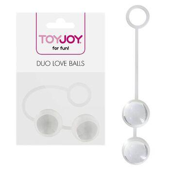 Bolas Vaginais em Vidro Duo Love Balls
